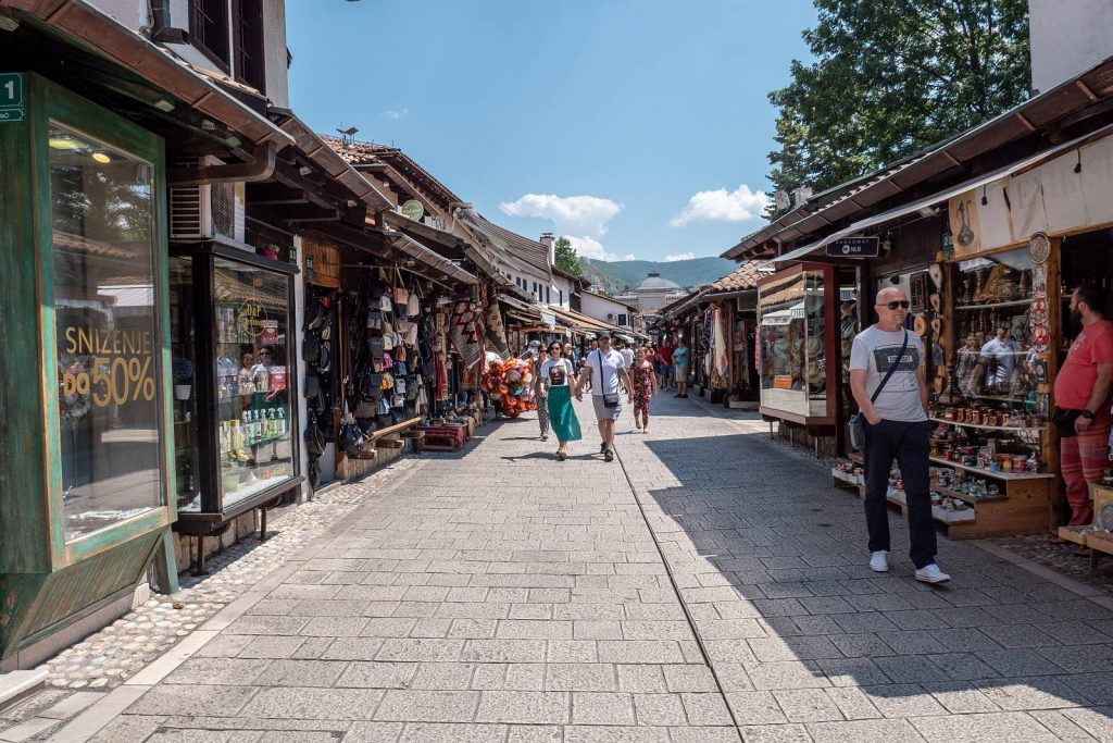 Sarajewo, uliczki starego miasta